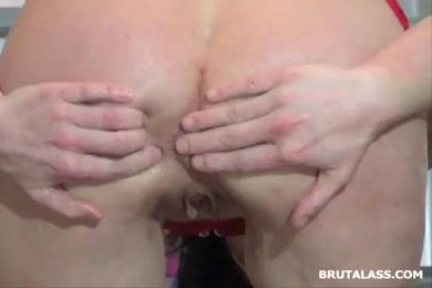 Masturbation with a butt plug in my ass.
