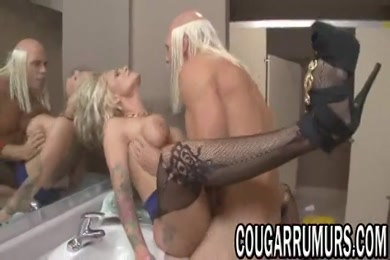 Pregnant milf cums with vibrator inside of her tight pussy.