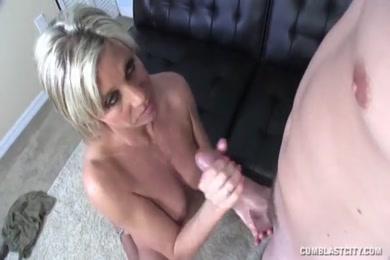 Huge cumshot with my big cock.
