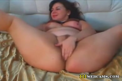 Bisexual girl masturbates with her dildo.