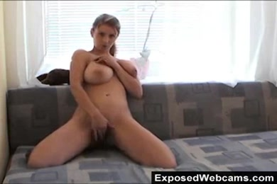 My first time doing webcam with my sexy wife