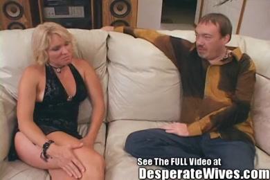 Panty slut wife plays with vibrator while waiting on boyfriend.