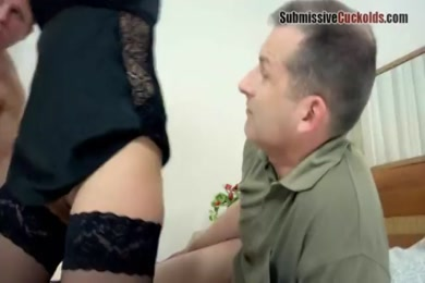 My sexy wife masturbates while on phone with her husband.