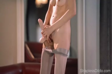 Fitness girl gets fucked in the pussy and asshole.