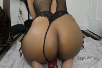 My first vid of me riding a dildo.