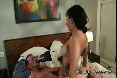 Masturbation with my big cock in my bed.