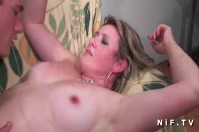 Young chubby girl with small tits gets drilled by big dick.