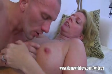 Hot blonde milf fucks on camera while hubby record.