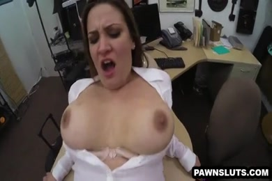Big tit brunette fucked by big dick.