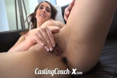 Bbc fucks her ass and cums.