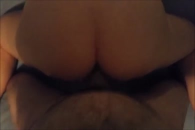 Huge cock and cumming inside my tight pussy.