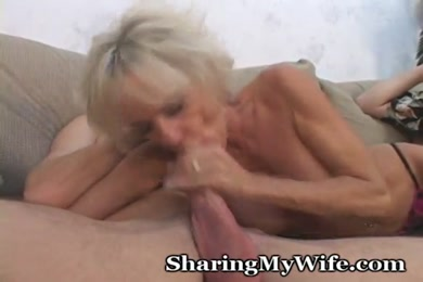 Mature lady fucks her lover. wife has the pleasure with both.