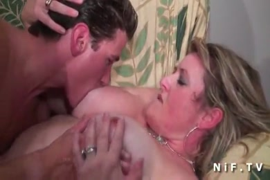 Shemale fucked in the ass by a big dick.