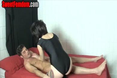 Cum on my feet and cum on me again.