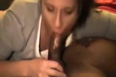 Sucking on a big fat dick, big black cock.