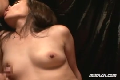 Hot milf gets fucked by young guy in front of hubby.