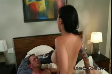 Sisters boyfriend fucks me while she in bed.