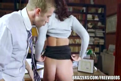 Nasty chick from school fucked by stranger.