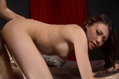 Hot chick with pierced nipples gets pounded hard.