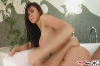 Big ass milf fucked hard doggy and reverse.