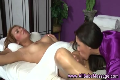 Sexy bdsm girl gets her nipples and pussy licked.