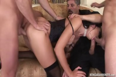 Babe and a big cock.
