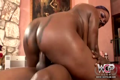Thicc ebony ass eating that ass.