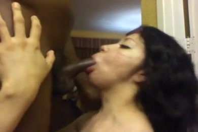 Sucking my step dad's dick in a hotel.