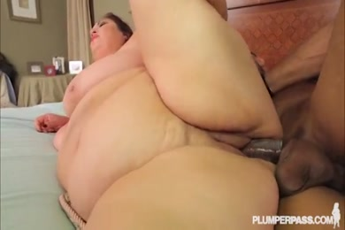 Busty latina milf gets fucked by huge black cock while hubby is home.